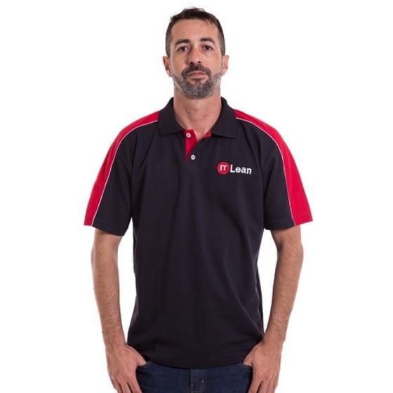 Camiseta Personalizada Polo de Malha Pinheiros - Camiseta Personalizada com Logo
