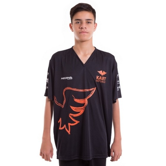 Camiseta Personalizada Uniforme de Algodão Pacaembu - Camiseta Personalizada com Logo