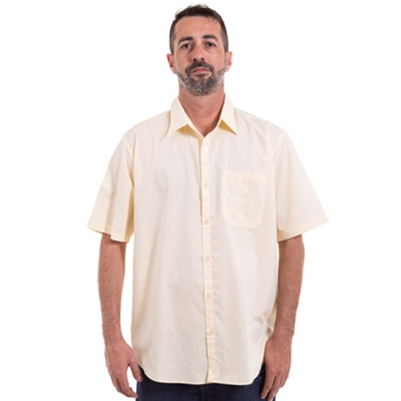 Onde Comprar Uniforme Profissional Camisa Brás - Uniforme Profissional Masculino