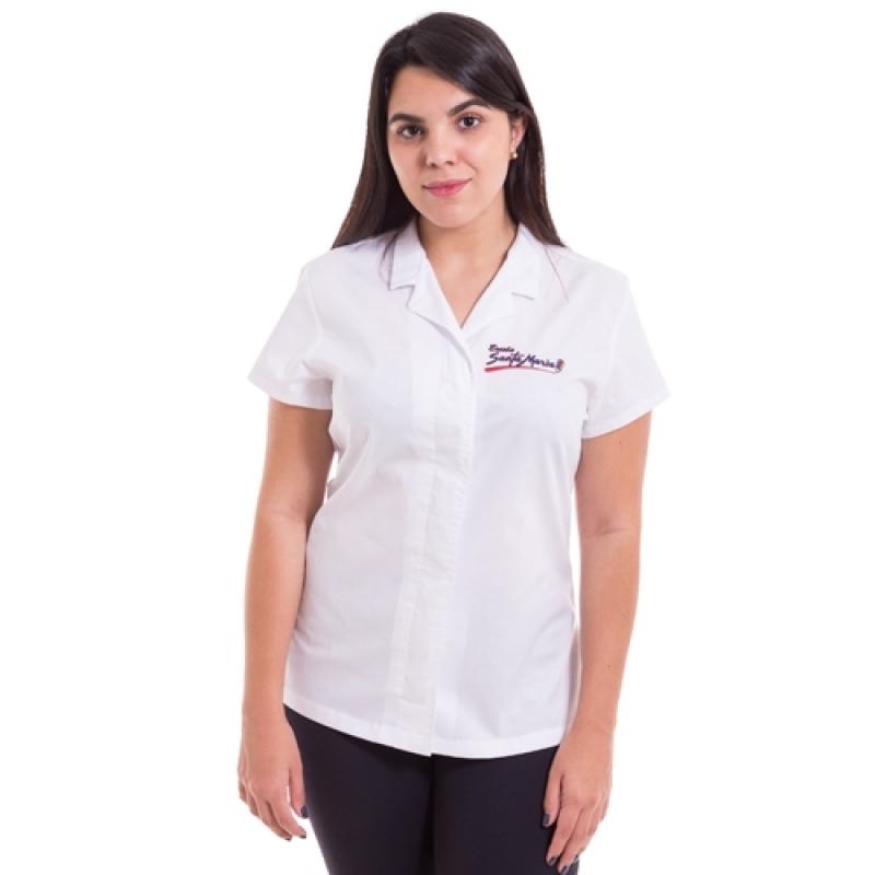 Onde Encomendar Uniforme Profissional Camisa Pompéia - Uniforme Profissional