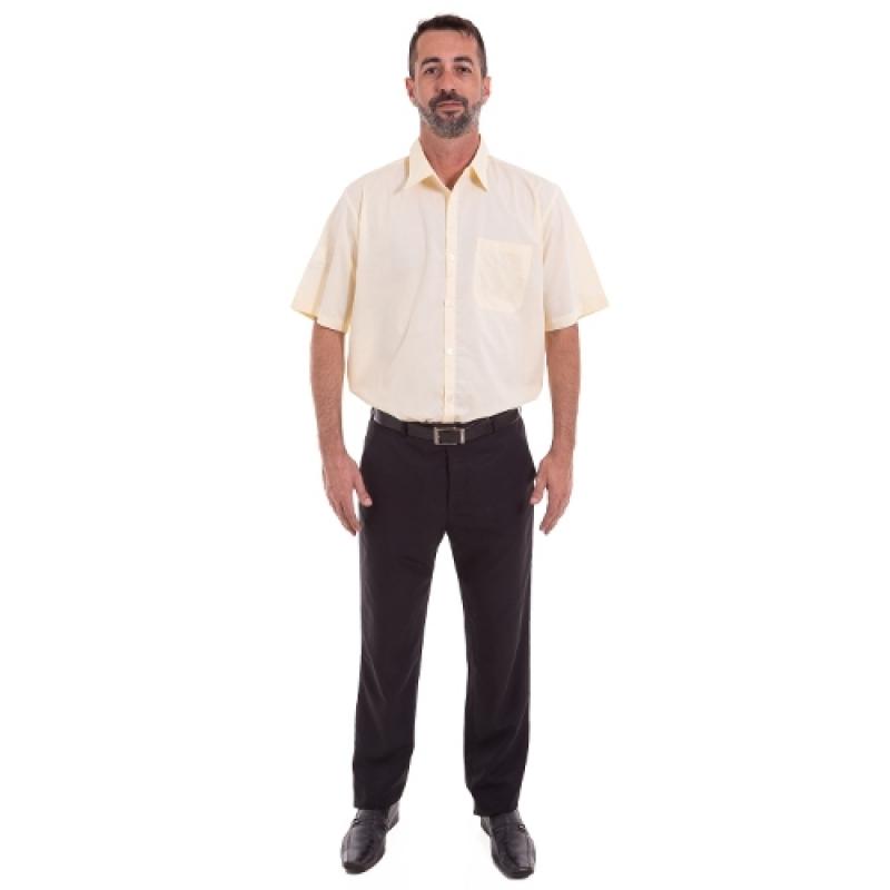 Onde Encomendar Uniforme Profissional Masculino Carandiru - Uniforme Profissional Camisa
