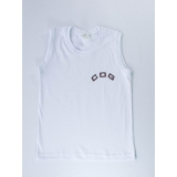 camiseta branca promocional de malha Bresser