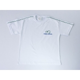 camiseta branca promocional Brás