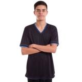 camiseta masculina promocional de malha Vila Albertina