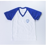 camiseta personalizada para gincana de algodão Horto Florestal