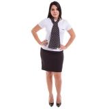 camiseta personalizada uniforme de malha São Domingos