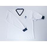 camiseta promocional manga longa de algodão Vila Gustavo