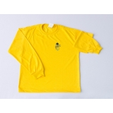 camiseta promocional manga longa Santana