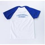 camiseta promocional sublimação de malha Água Branca