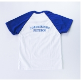 camiseta promocional sublimação de malha Jaguaré