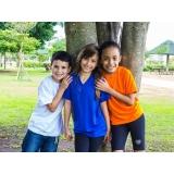 cotação de camiseta promocional infantil Jaraguá