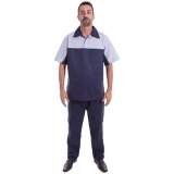 uniforme profissional masculino Vila Albertina