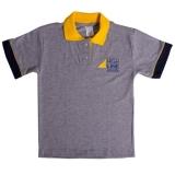 uniformes escolares com logotipo da escola Santa Terezinha