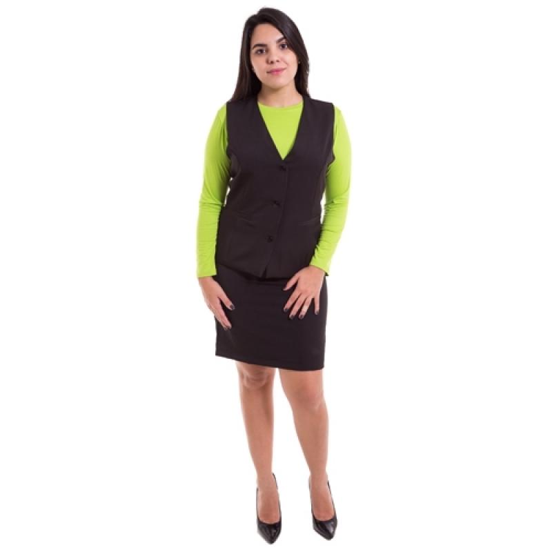 Uniforme Profissional Feminino sob Encomendar Luz - Uniforme Profissional Oxford