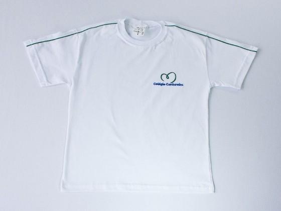 Camiseta Personalizada Bordada de Algodão Brasilândia - Camiseta Personalizada Polo