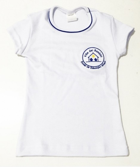 Camisetas Personalizadas Bordada Mandaqui - Camiseta Personalizada para Salão de Beleza