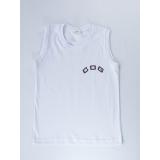 camiseta branca promocional de malha Mandaqui