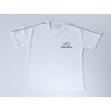 camiseta personalizada bordada de algodão Brasilândia