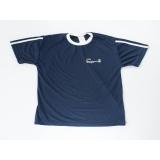 camiseta promocional dry fit de malha Luz