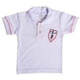 camiseta promocional infantil de algodão Chora Menino