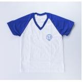 cotação de camiseta branca promocional Parque Anhembi