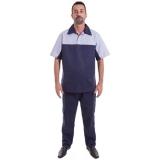 uniforme profissional masculino Jaraguá