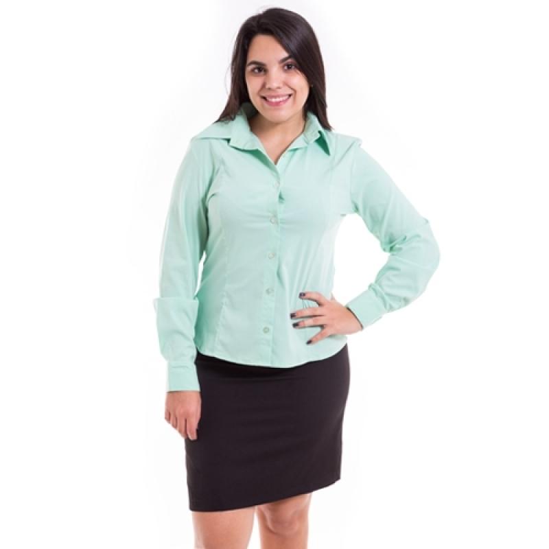 Uniforme Profissional Camisa sob Encomendar Lapa - Uniforme Profissional Brim